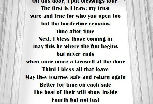 Door Blessing